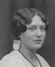 Edith Bauer, geb. Hohenberg - 1914