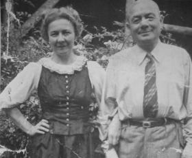 Antonie und Josef Brüll, 1938
