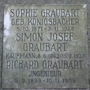Jewish Cemetery Graubart grave