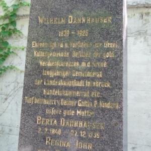Jüdischer Friedhof Grabstein Dannhauser