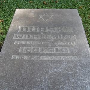 Jüdischer Friedhof Grabstein Dubsky