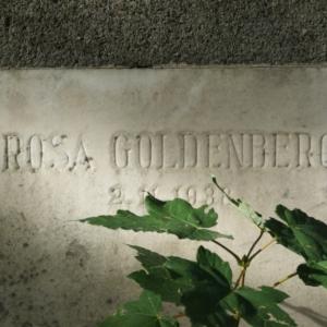Jüdischer Friedhof Grabstein Goldenberg