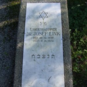 Jüdischer Friedhof Grabstein Link