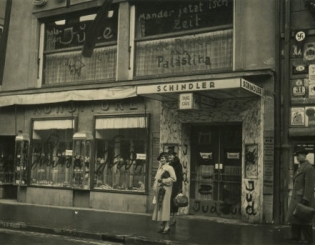 Cafe Schindler, Maria-Theresien-Strasse 31, 1938