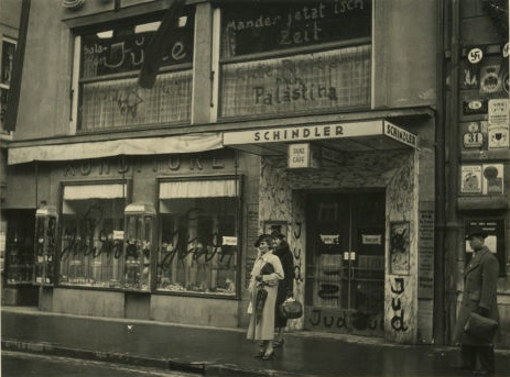 Cafe Schindler, Maria-Theresien-Strasse 31, 1938