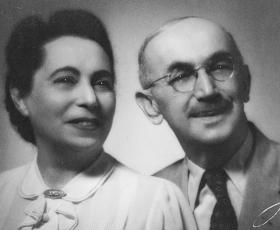 Emma und Julius Pasch in Havana, Cuba - 1942