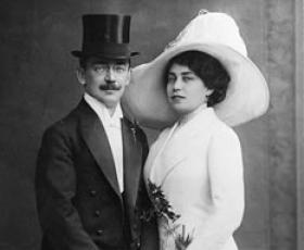 Hochzeit von Emma und Julius Pasch in Prag - 27.02.1912