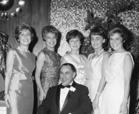 Hilde, Edith, Janne, Hans, Gerda and Ruth Pasch - 1965
