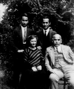 Robert, Laura, Siegfried und Julius Popper, Foto: Courtesy of Leo Back Institute