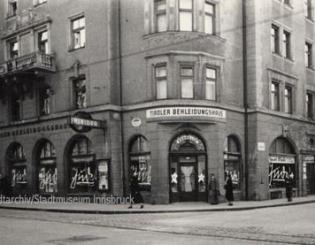 Bekleidungshaus Kühne, Adamgasse 9, 1938