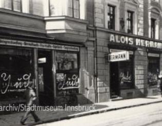 Likörfabrik Alois Hermann, Leopoldstrasse 28, 1938